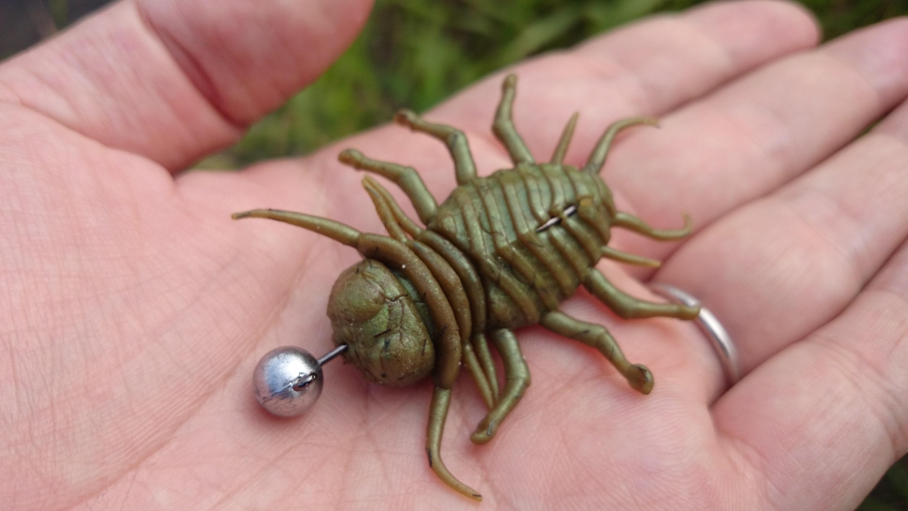 沈む虫がヤバイ。2020年版オススメ沈む系虫ルアー6選プラスα。