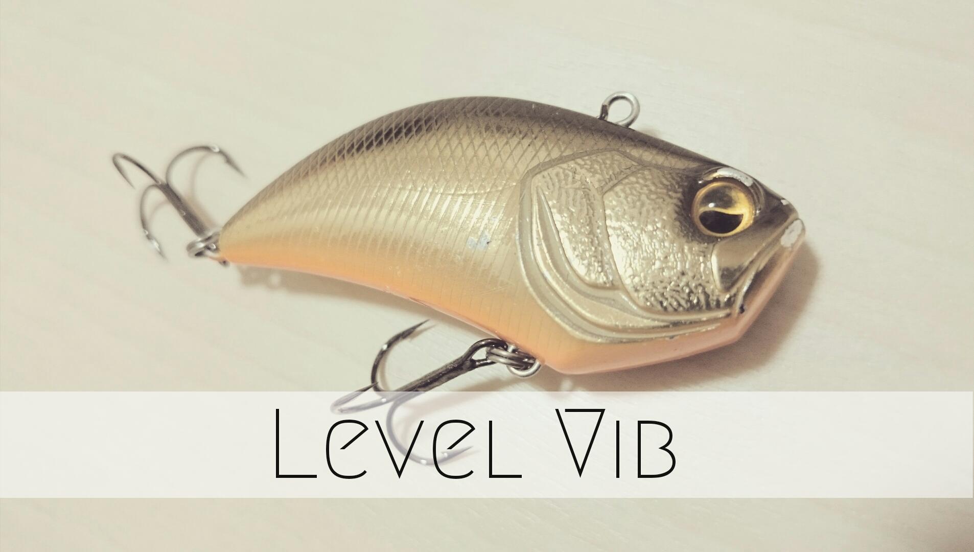 釣れるルアーランキングでよく1位になるあのレベルバイブをインプレする