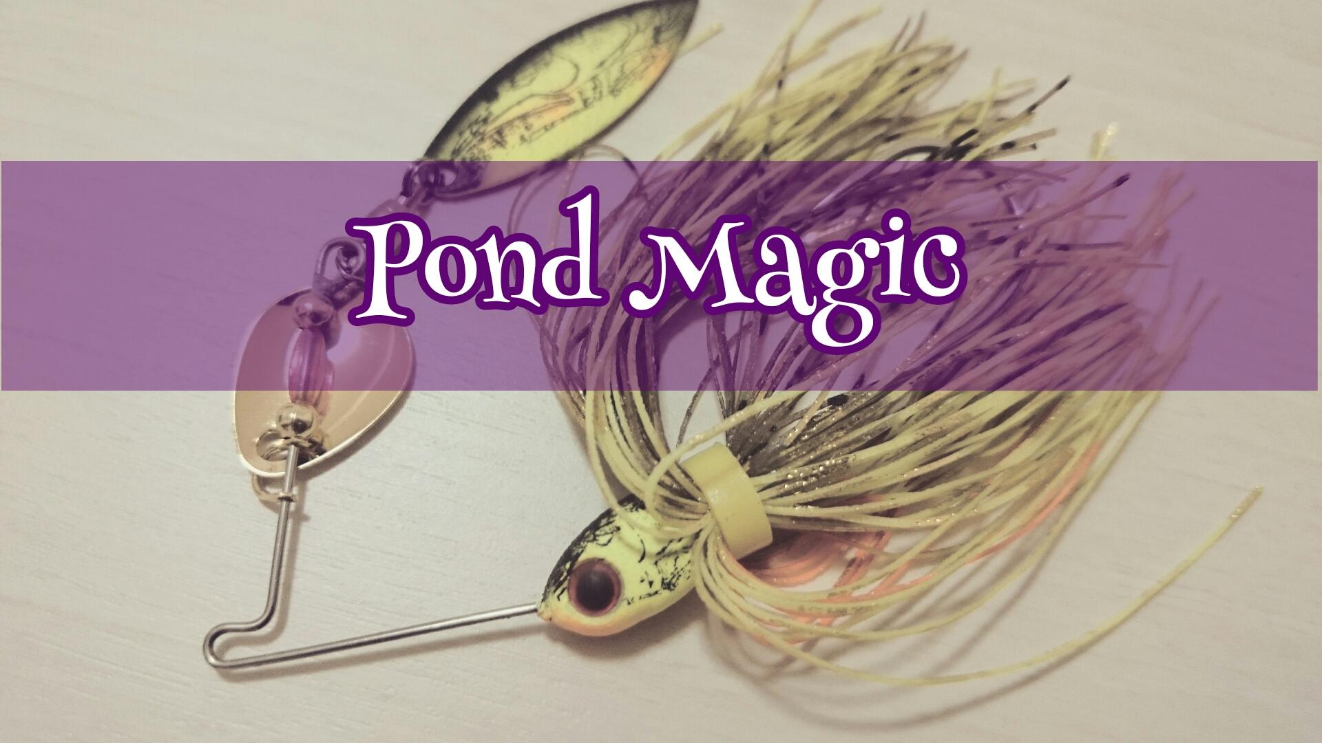 カラーリングと一口感で魔法をかけろ。ブーヤー、ポンドマジック。