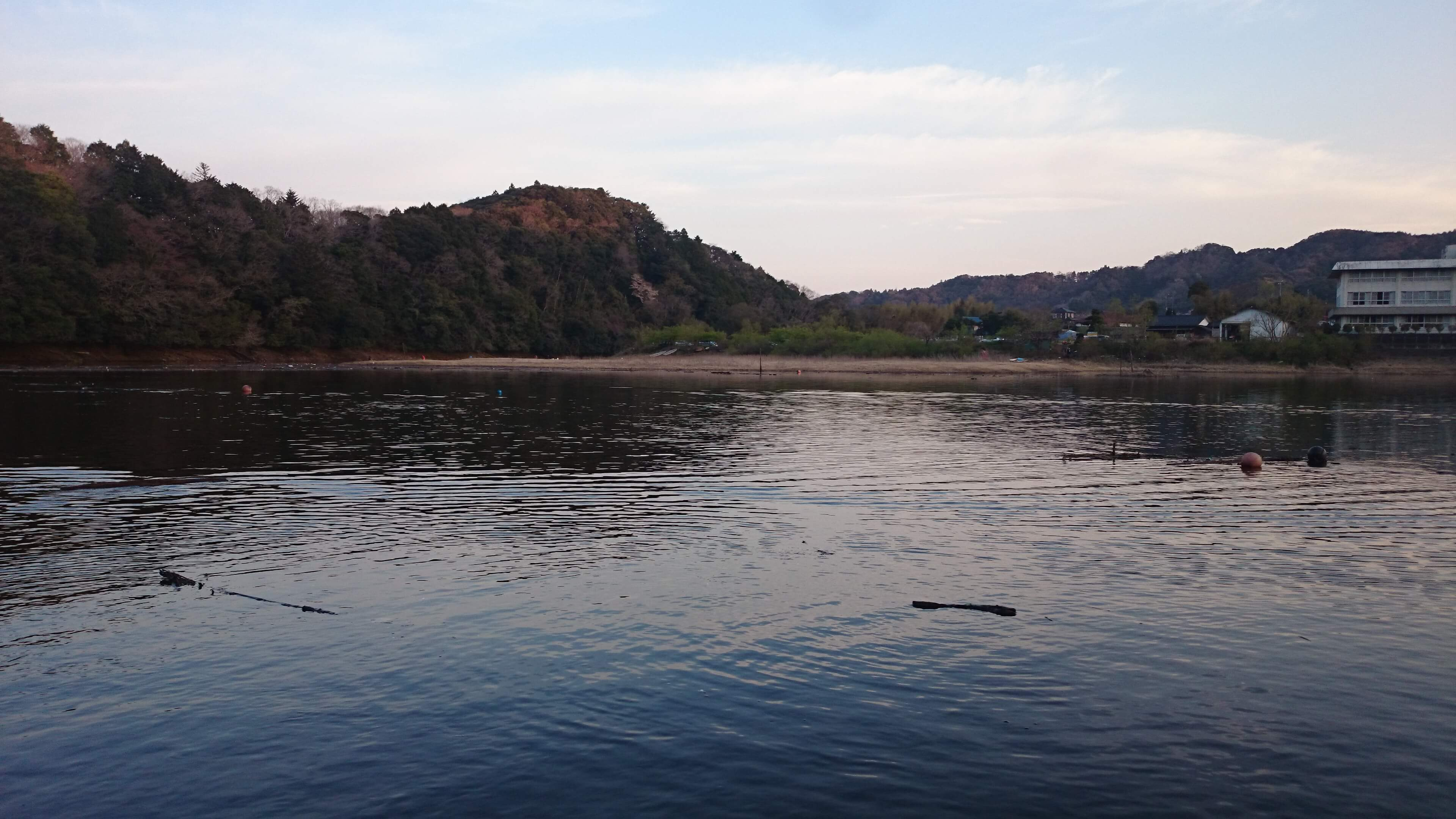 4月初旬。春爆期待した三島湖でボウズだった話。