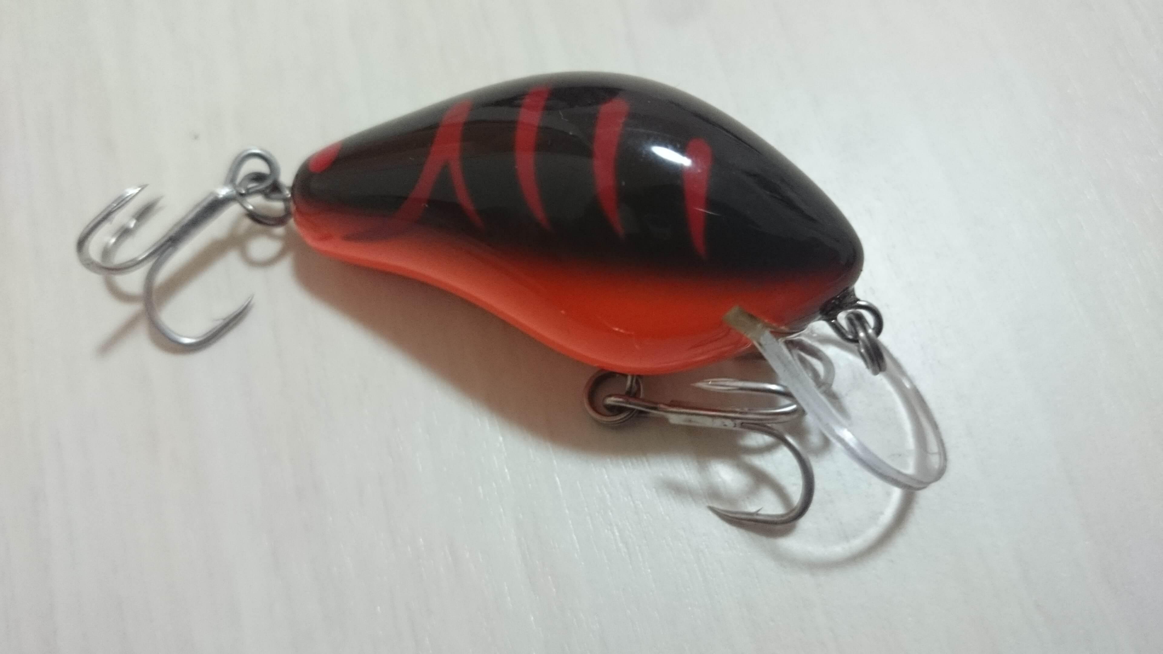 【ノーネイムクランク#1】蟹モチーフの小型ウッド製クランク