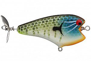 Custom Topwater lure PH Custom Lures Shiner Color Crazy Ace